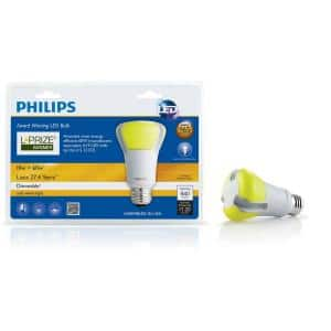 Philips 10W (60W eqivalent) L Prize LED bulb $14.97 Home Depot B&M only, YMMV, perhaps