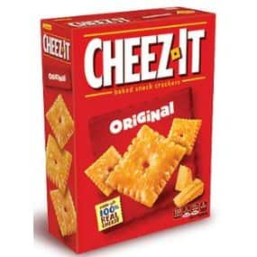 Kellogg's Cheez-It Baked Snack Crackers (Original, 1.5-Ounce Packages, Pack of 36) for $6.71 or less with 25% coupon and subscribe and save discount