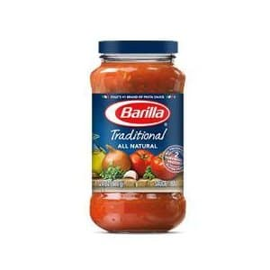 Amazon.com has Barilla Pasta Sauce Variety Pack, 24 Ounce, 4 Jars as low as $7.21 with Subscribe & Save + Free Shipping!