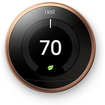 Amazon.com: Nest Learning Thermostat 3rd Generation, Copper, Works with Amazon Alexa $199.99 Orig. $249.99