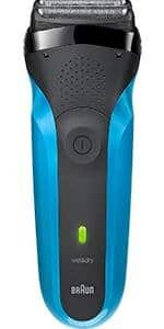 Amazon.com has the Braun Series 3 ProSkin 3040s Men's Electric Razor / Electric Shaver, Rechargeable, Wet & Dry, Blue  ONLY $25.96 AES+ AR+ Free Same Day Shipping for some
