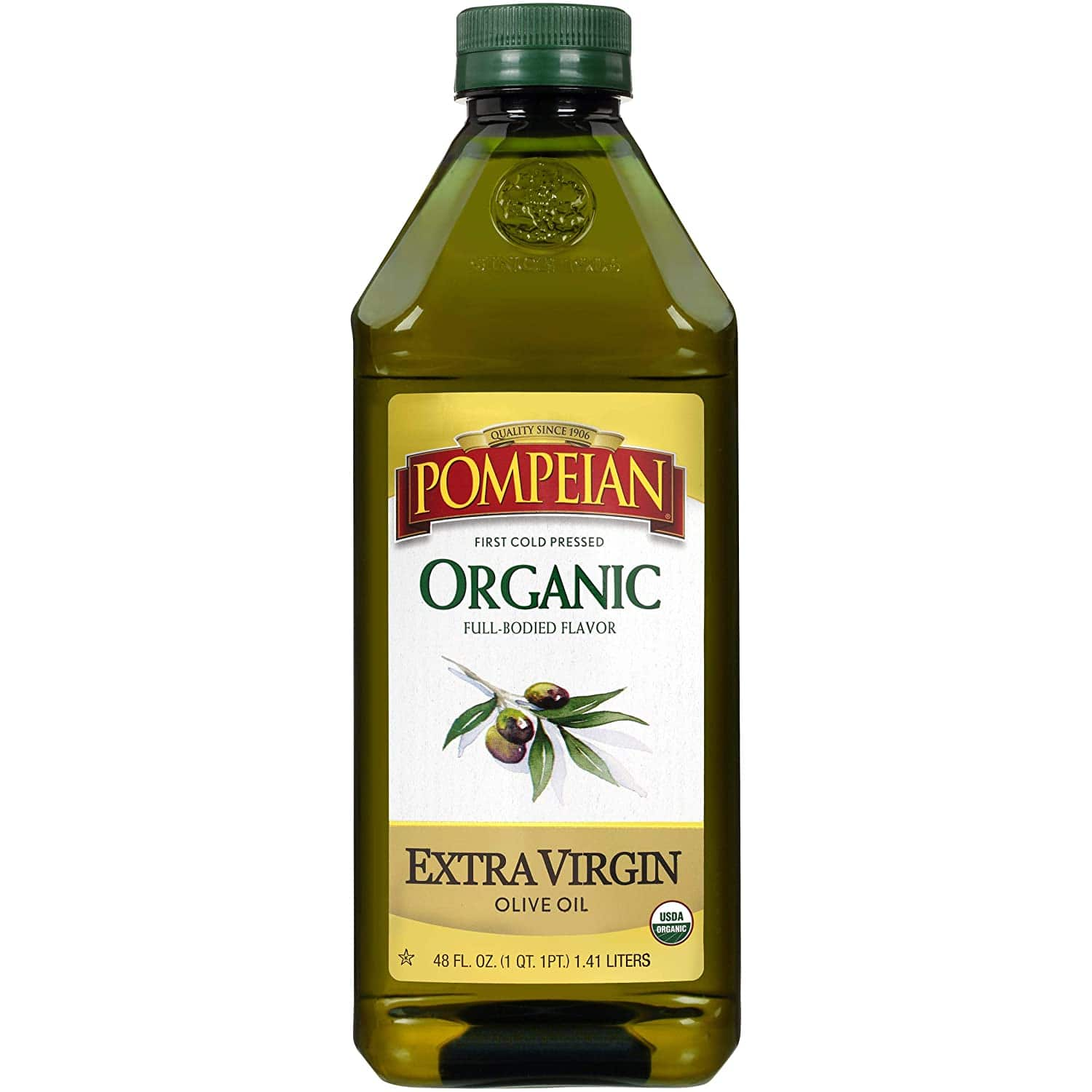 48oz Pompeian Organic Extra Virgin Olive Oil S&S $9 or $8.06 $9.01