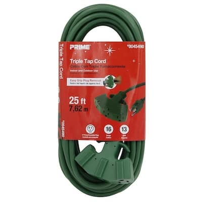 Lowe's extension cords 75% off YMMV