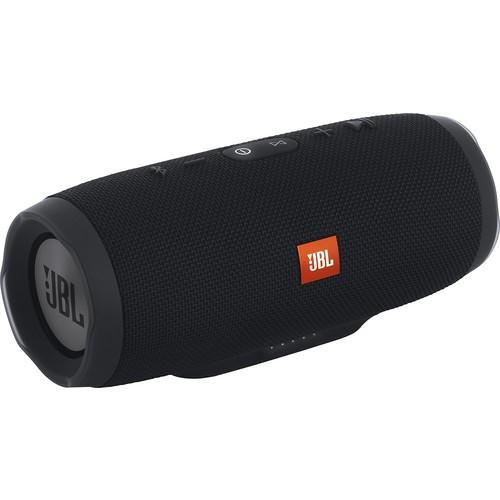 JBL - Charge 3 Portable Bluetooth Speaker - Black $89.95