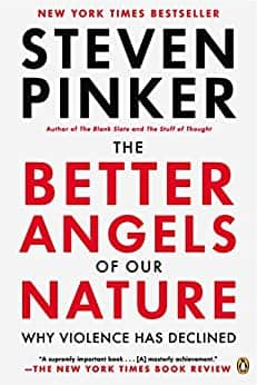 The Better Angels of Our Nature: Why Violence Has Declined (Kindle eBook) $2.99