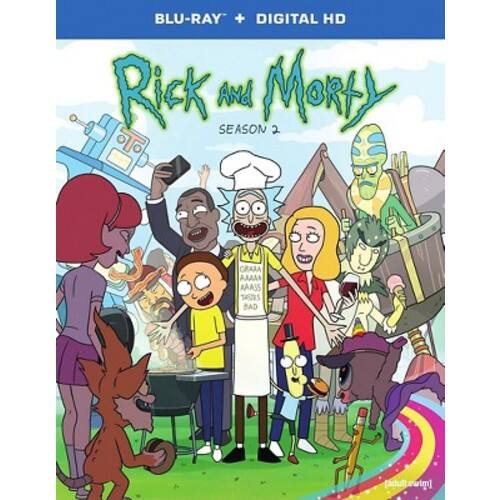 Rick and Morty: The Complete Second Season Blu-ray $15