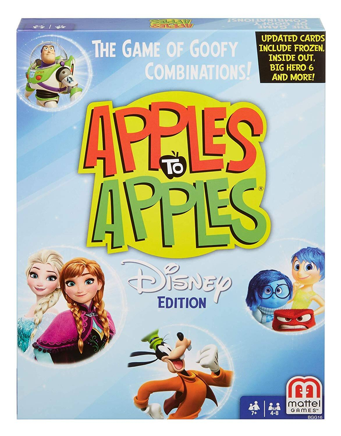 Disney Apples to Apples - The Game of Goofy Comparisons! $9.9