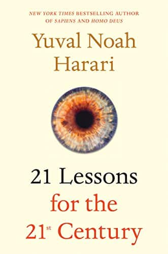 21 Lessons for the 21st Century (Kindle Edition) $2.99