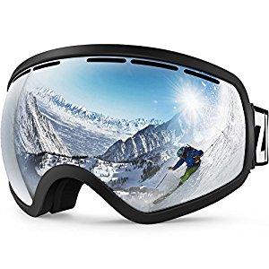 ZIONOR Lagopus X10 Ski Snowboard Snow Goggles OTG $21.59 @Amazon