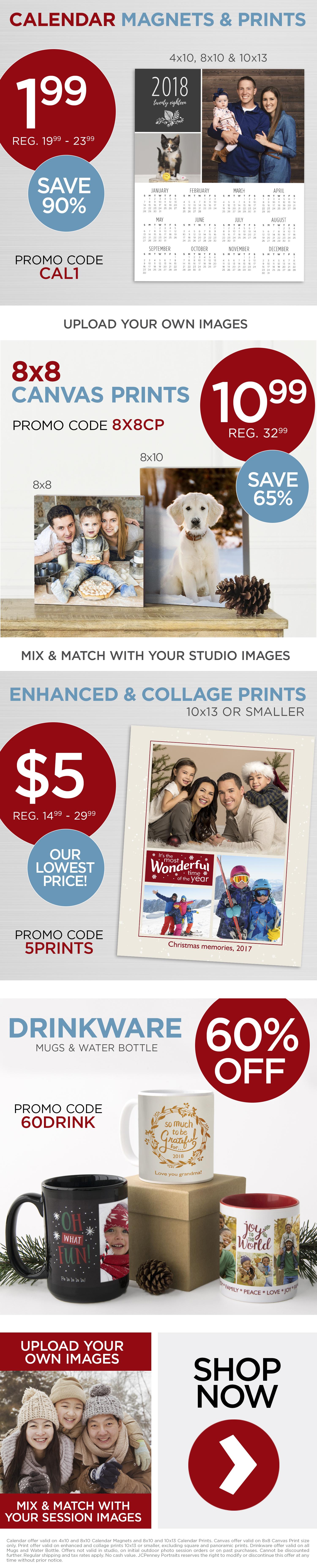 Calendar Magnets and Prints $1.99