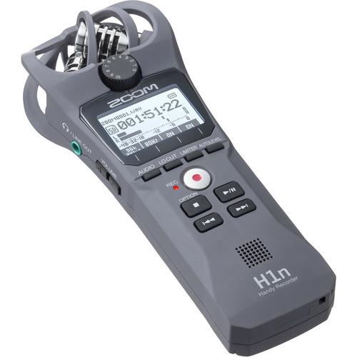 Zoom H1n Digital Handy Recorder (Gray) $84.99 @ B&H Photo w/ Free Shipping