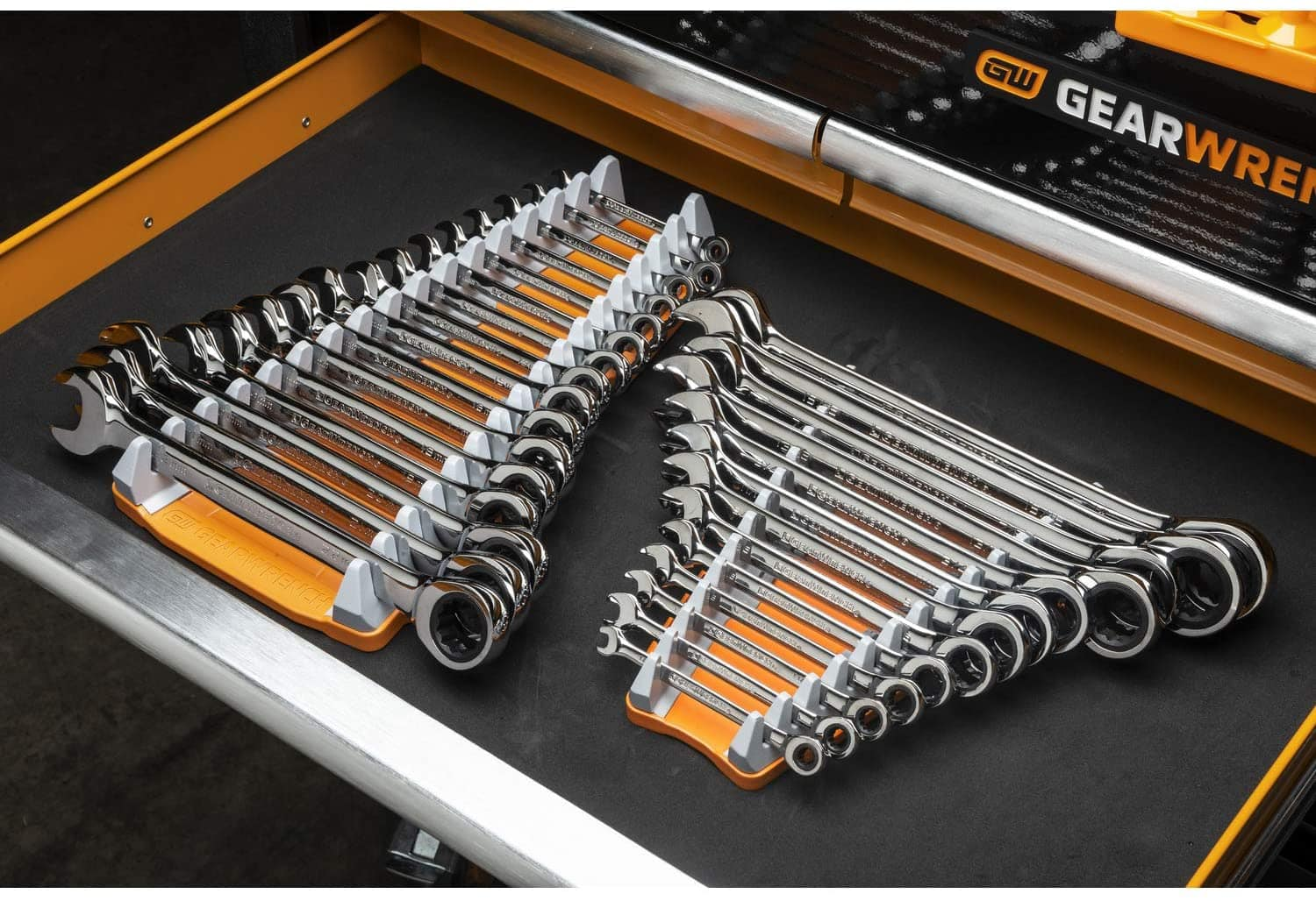 GearWrench 2 Pc. 16 Slot Reversible Wrench Rack - 83121 $14.28