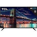 """YMMV TCL 55"""" 6 Series 4k led Roku TV--model number 55r615 $399.99 B&M"""