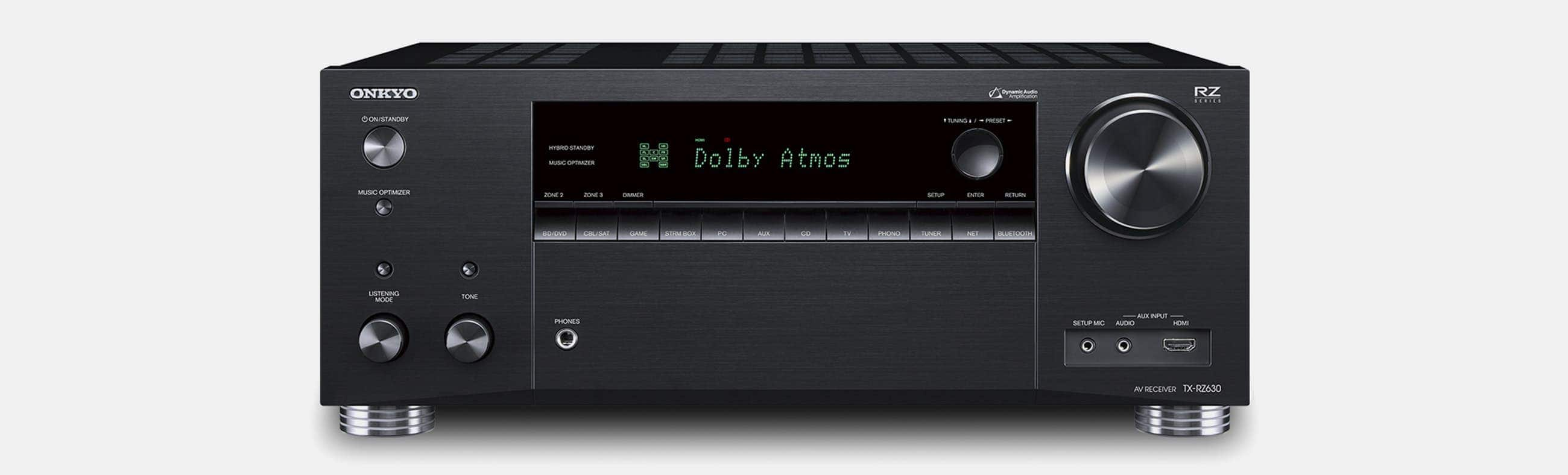 Onkyo TX-RZ630 9.2-ch receiver $599 AC