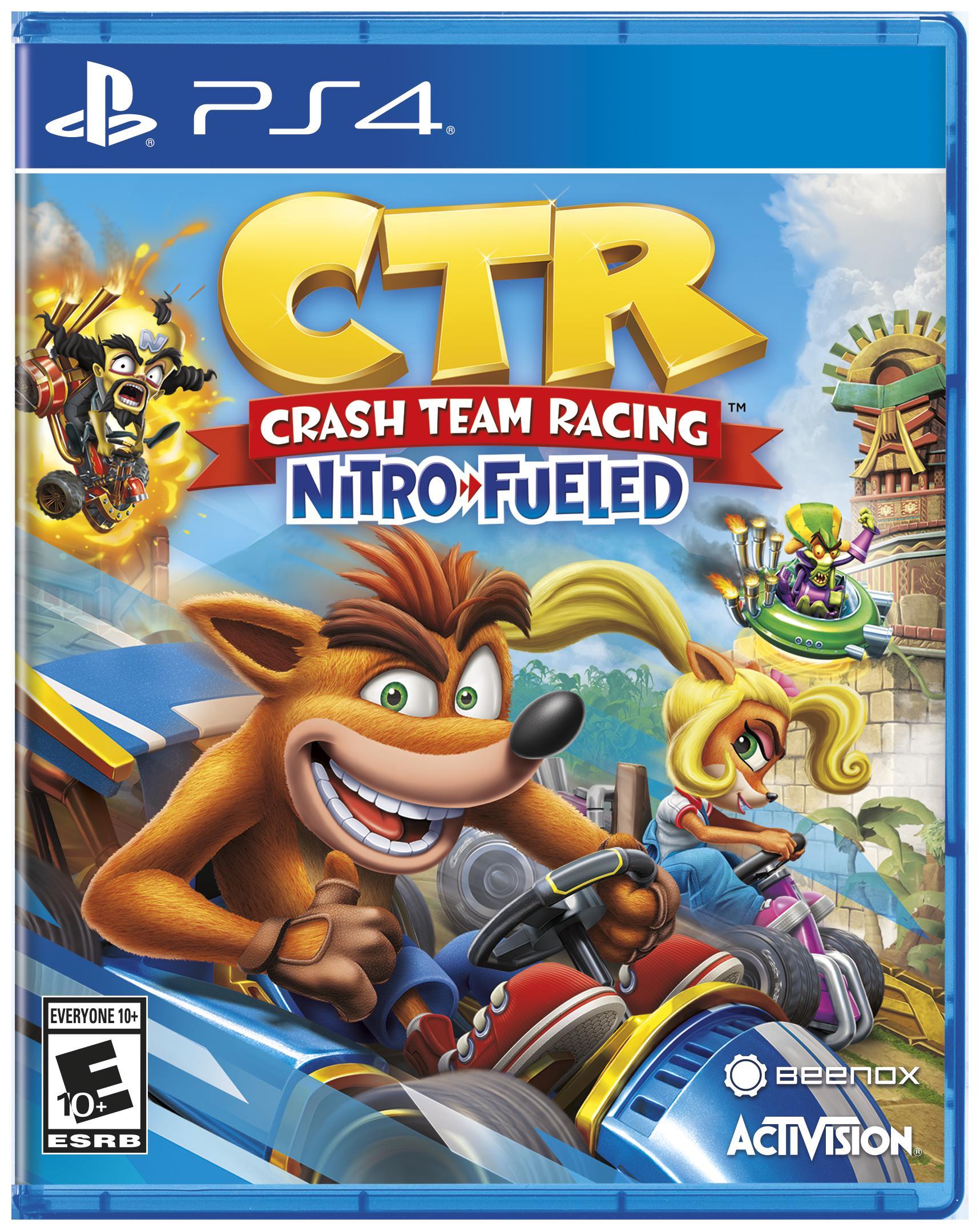 Crash Team Racing: Nitro Fueled PlayStation 4 Game Walmart $20
