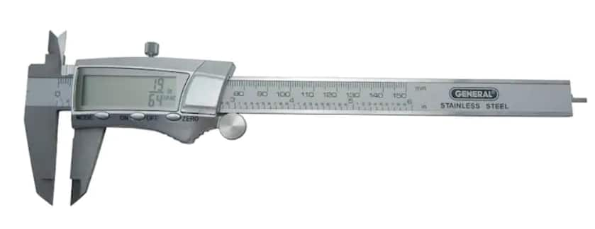 """YMMV - $4.06 - Lowes - General Stainless Caliper 6"""" (does fractions)"""