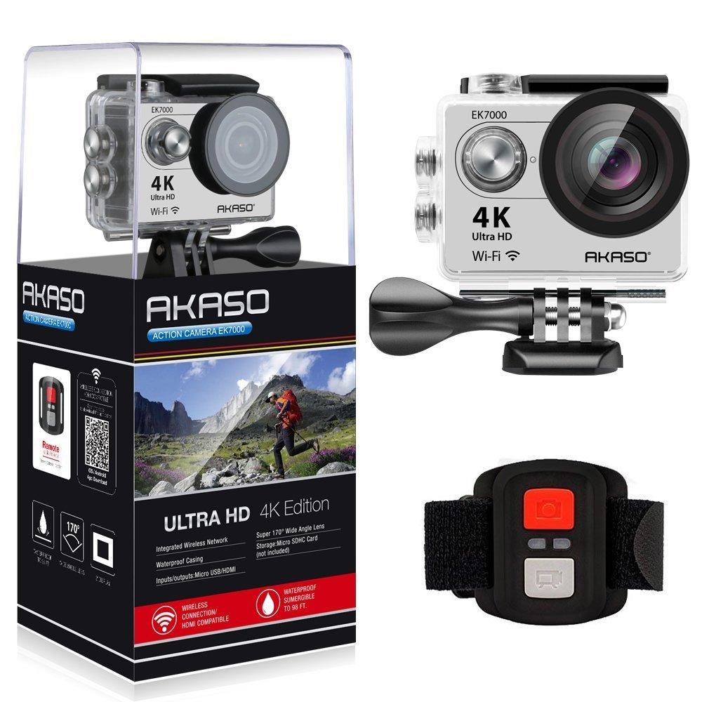 Amazon warehouse: AKASO EK7000 4K WIFI Sports Action Camera