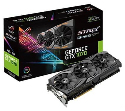 Asus ROG GTX 1070 In Stock from Amazon Starting $429 (OC is gone)