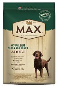 nutro max dry dog food 15# for 8.91 fs
