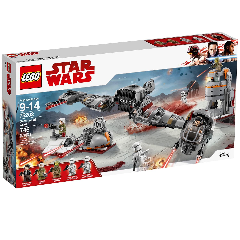 Kohls has Lego Star Wars Defense of Crait Set 75202 at $42.49 50% off