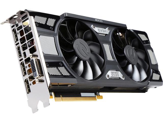 EVGA 1070 SC GAMING ACX 3.0 Black Edition - 8GB - $399.99 after $10 rebate