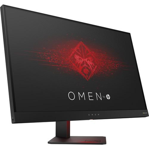 "HP OMEN 27"" Z4D33AA Monitor Nvidia G-Sync Quad-HD 1ms $160"