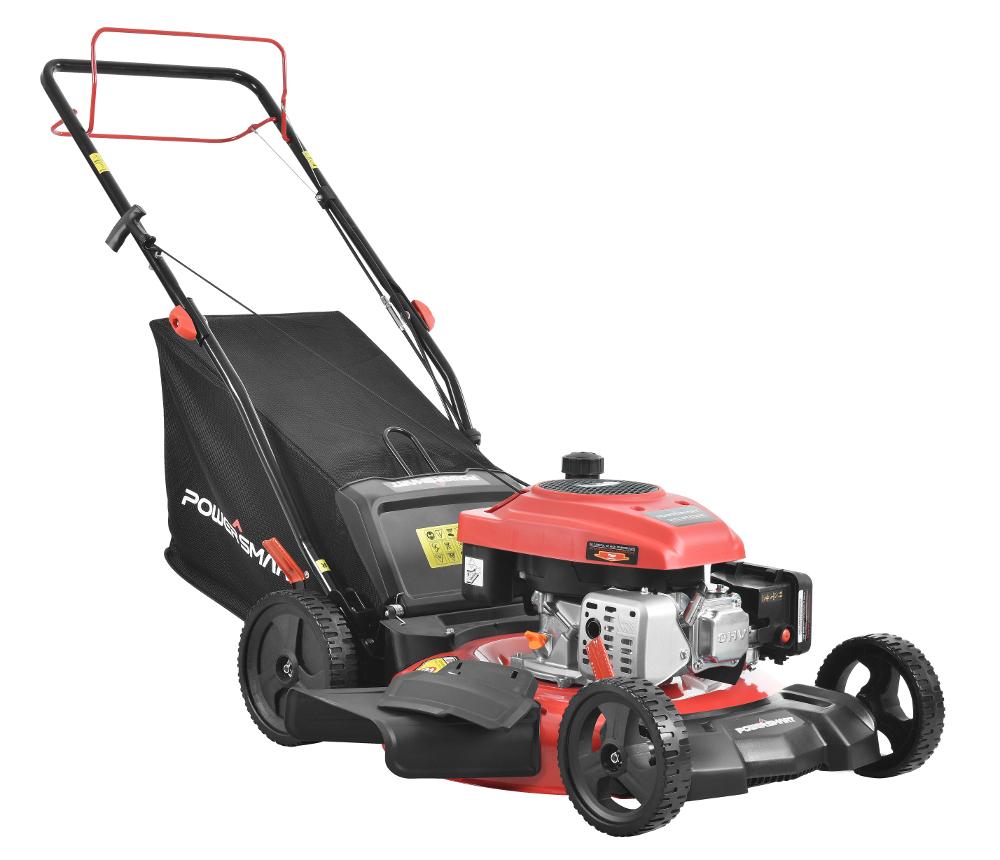 "PowerSmart DB2194SR 21"" 3-in-1 170cc Gas Self Propelled Lawn Mower - $199 at Walmart"