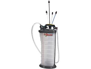 Lumax LX-3009-10 LX-1314 Manual / Pneumatic, 2-in-1 Fluid Extractor, (2.6G (10L) Capacity) $6.82