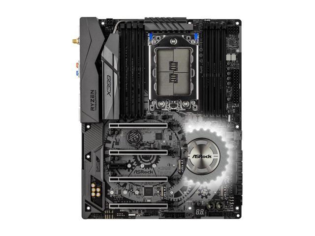 ASRock X399 Taichi sTR4 AMD Threadripper motherboard $266 AC AR
