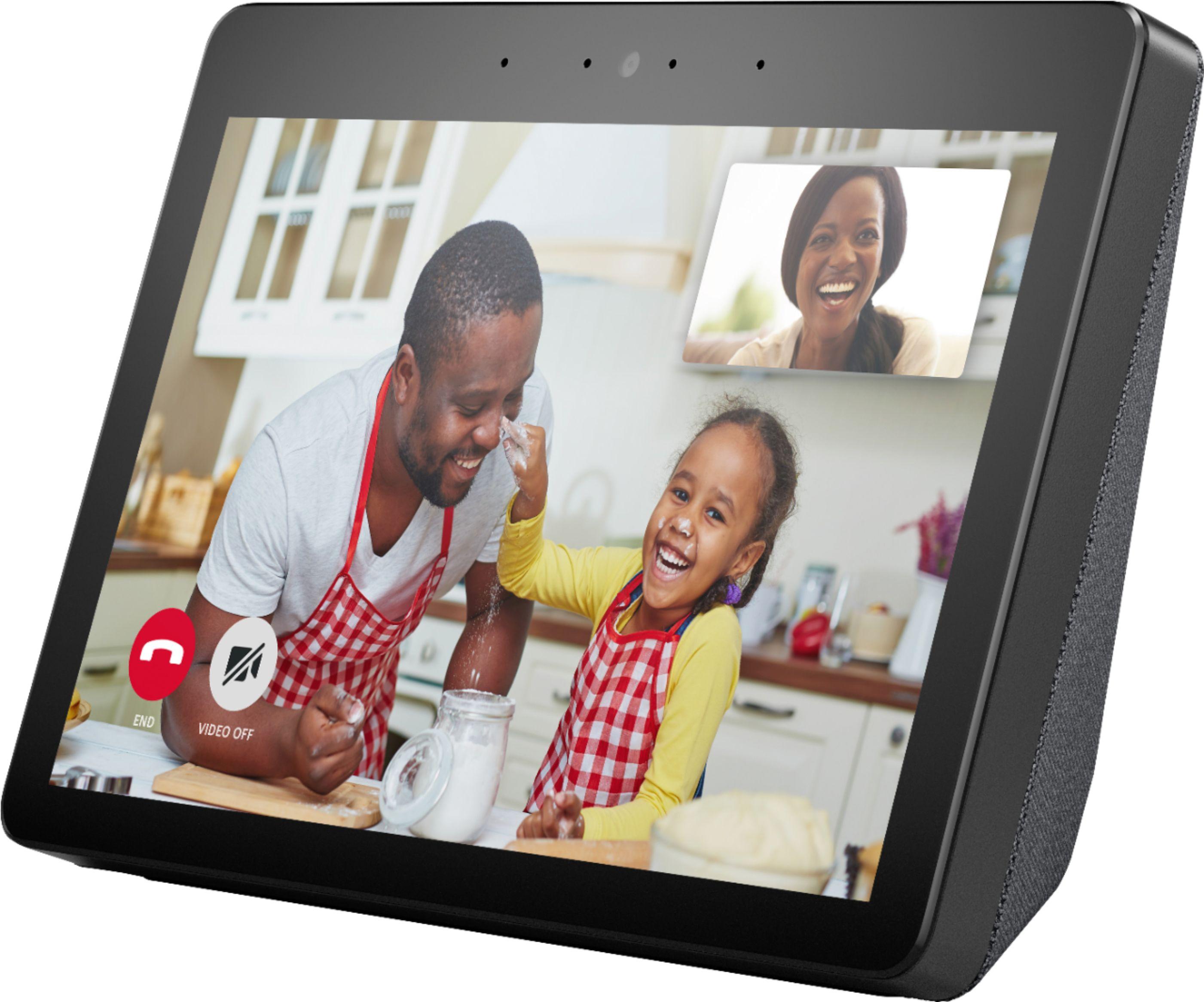 Amazon Echo Show (2nd Gen) w/ Free Echo Dot and White Philips Hue A19 Bulb $159.99