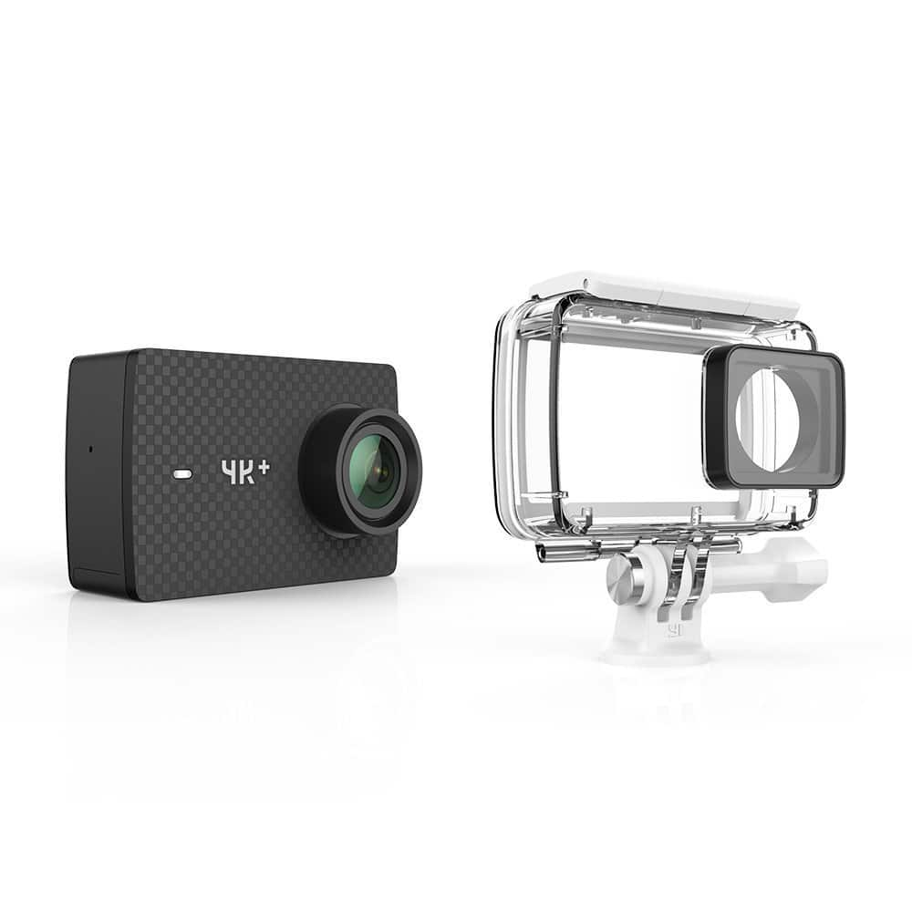 Yi 4k+ Action Camera with waterproof case $249 (with emailed Friday promo code)