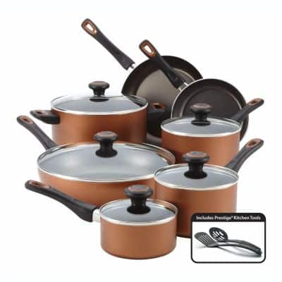 Farberware 14-pc. Nonstick Cookware Set - Kohls Online for $26 (AC, AR) before tax Plus $15 KC - FS