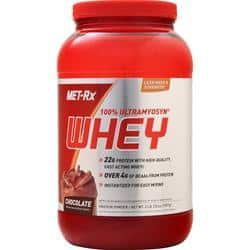 Met-Rx 100% Ultramyosyn Whey Protein Chocolate BEST BY 1/18 2 lbs $4 + $5.95 shipping