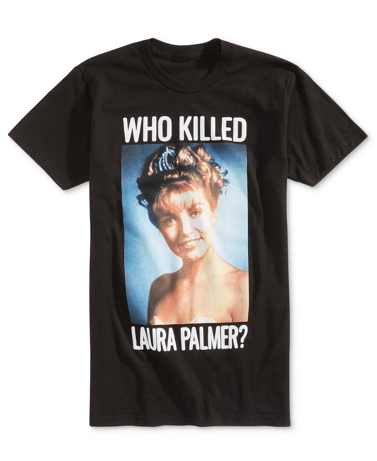"Men's ""Who Killed Laura Palmer?"" T-Shirt $6.96 @Macy's"