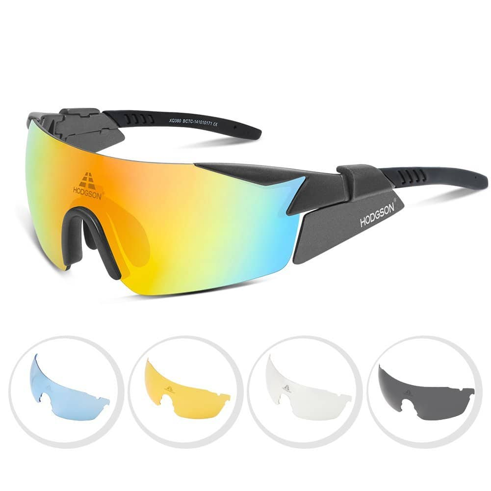 HODGSON Sport Polarized Sunglasses for Men or Women [gray] $6.59
