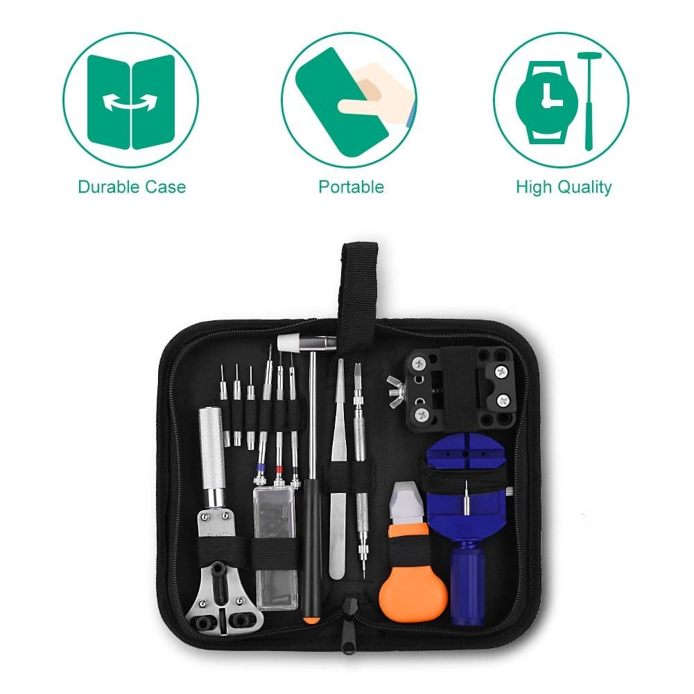 Watch Repair Tool Kit with a Free Hammer $9.85