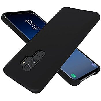 Galaxy S9 Plus Case, Silicone Gel Rubber Surface Smooth With Microfiber Cloth Lining - $3.99 @ Amazon