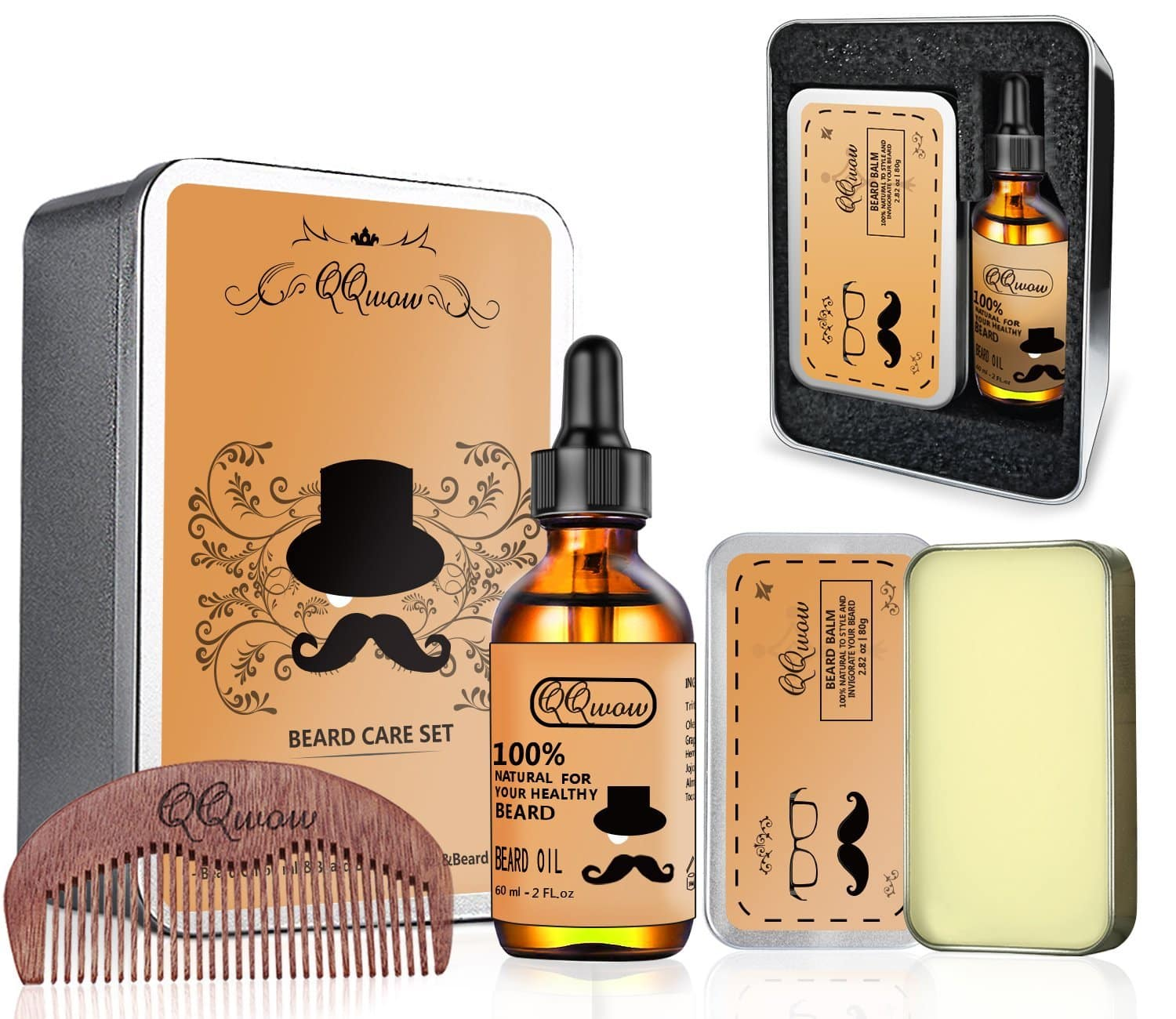 Beard Kit for Mens Grooming and Beard Care - $10.04 @ Amazon