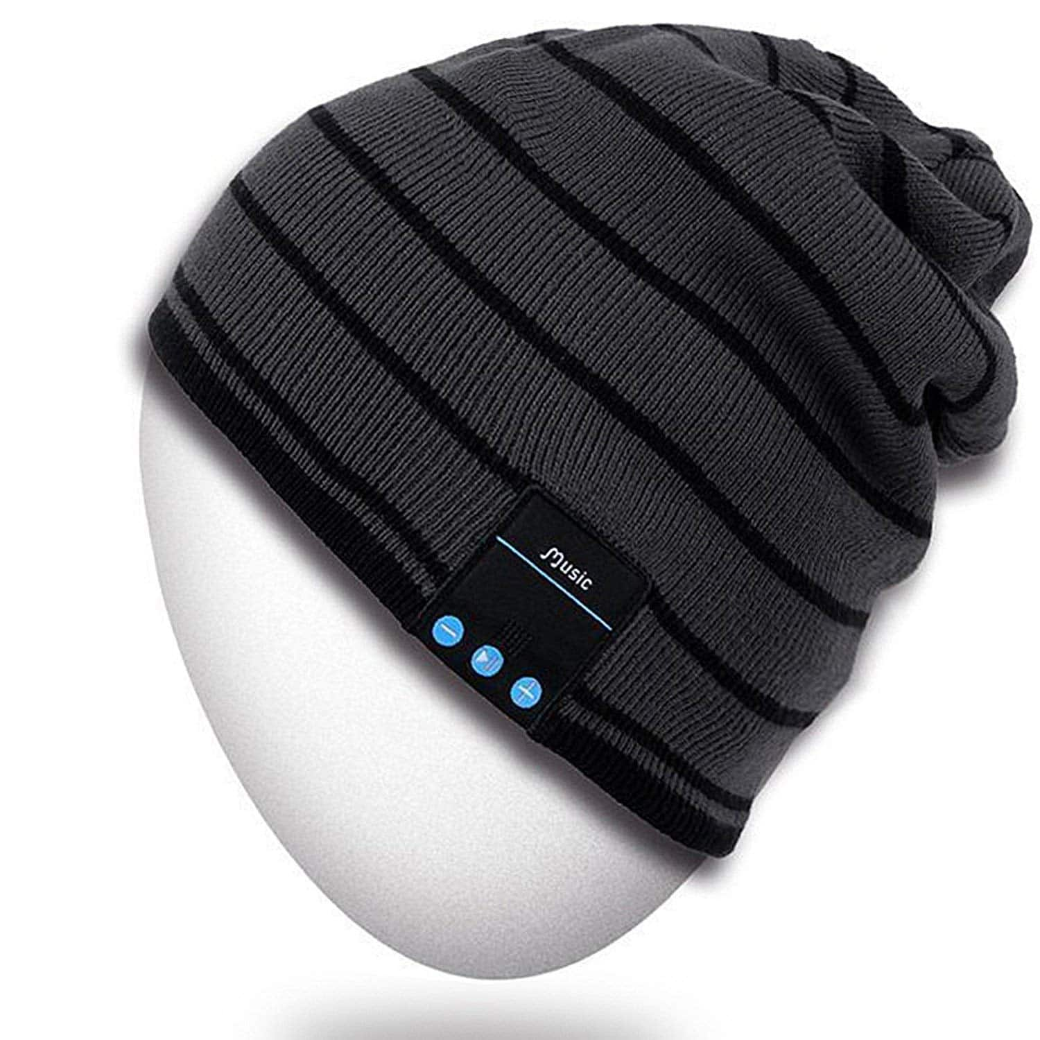 Bluetooth Beanie Hat - Outdoor Premium Knit Cap with Wireless Stereo  Headphone 4c65f6913f12