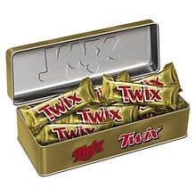 Twix Holiday Heritage Tin ​$1.29