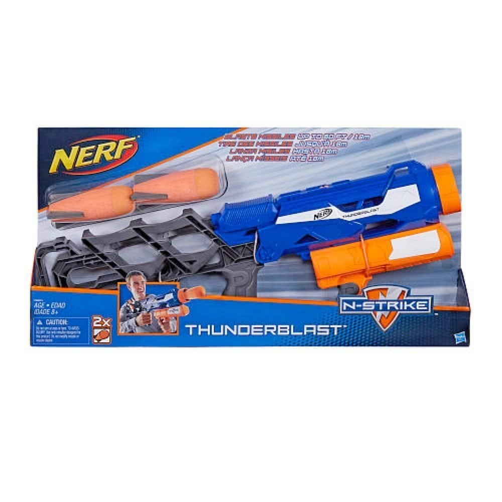 Nerf Thuderblaster Launcher $5.99, Little Pony castle $16.99, Paw Patrol Chair desk $11.99 + s/h