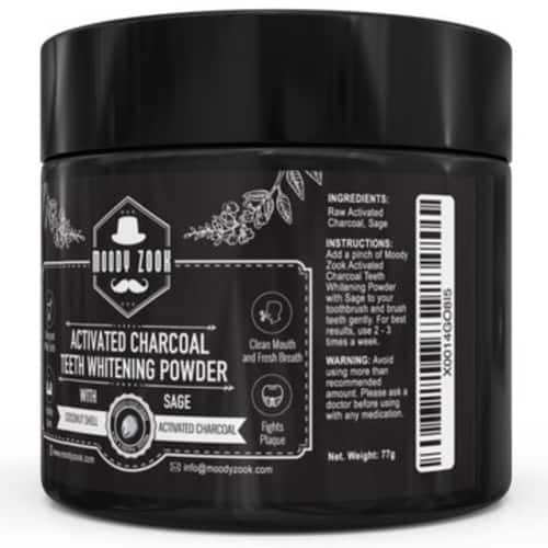 Organic Sage Coconut Charcoal Teeth Whitening Toothpaste for @Amazon for $8.07