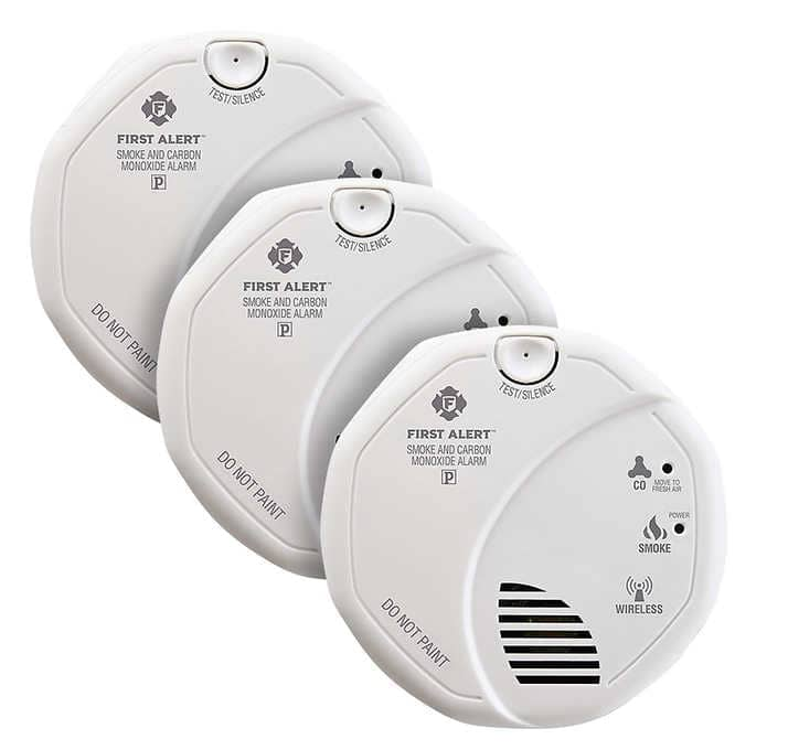 First Alert Z-Wave Smoke and Carbon Monoxide Alarm, 3-pack at Costco $79.99