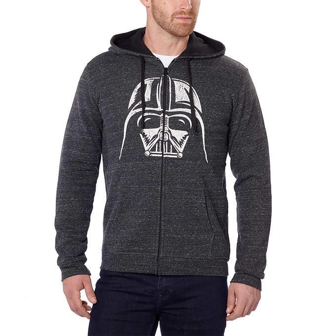 Star Wars Men's Darth Vader Hooded Sweatshirt $19.99 FREE SHIPPING