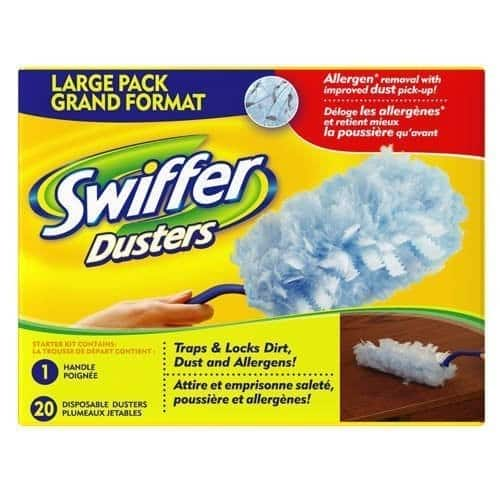 Swiffer Duster Refills, Unscented Dusters Refill, 20 Count [20 Count] $10.6
