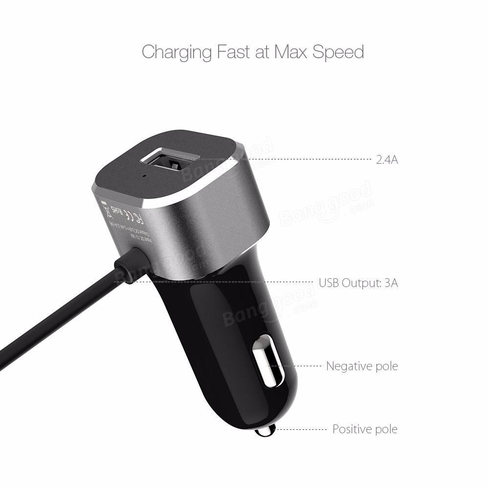 BlitzWolf® 5V 5.4A USB Type C BW-C3 Car Charger 27W $4.90 +fs