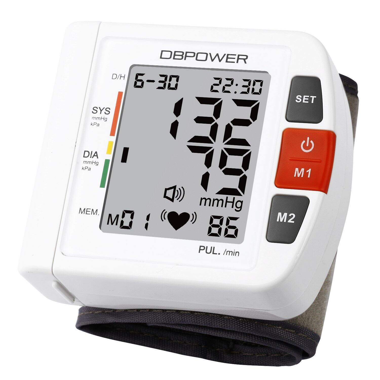 FDA Certified Wrist Digital Blood Pressure Monitor $16.49 + free Shipping with prime!