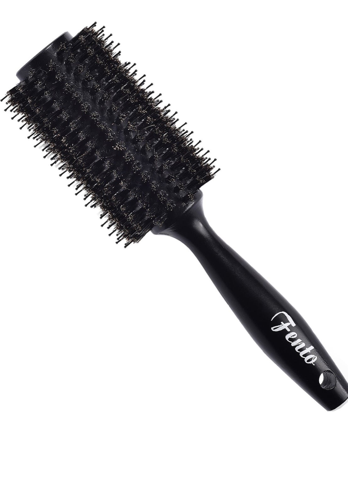 Boar Bristle Round Hair Brush $7.98 with FS with prime