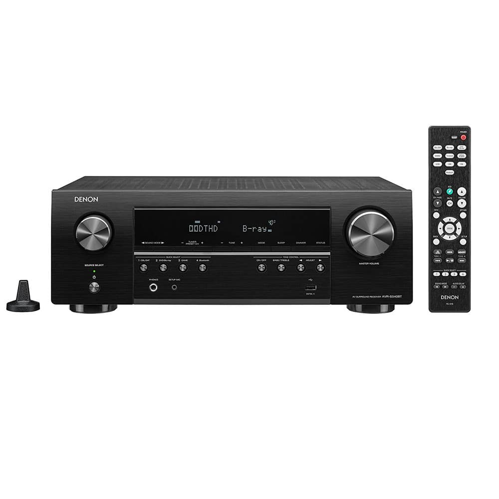 Denon AVR-S540BT 5.2 Channel Home Theater Receiver with Bluetooth $139 YMMV