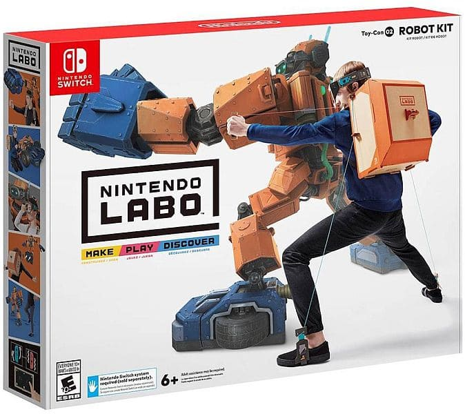 Nintendo Labo Robot Kit - Nintendo Switch $60 AC at Newegg